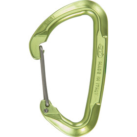 Climbing Technology Lime W Carabiner Wire Gate green